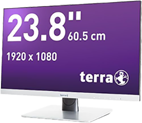 brainsolution Software AG - TERRA LED 2462W silber DP/HDMI GREENLINE PLUS