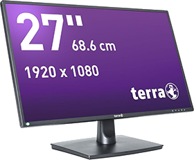 brainsolution Software AG - TERRA LED 2756W schwarz DP+HDMI GREENLINE PLUS